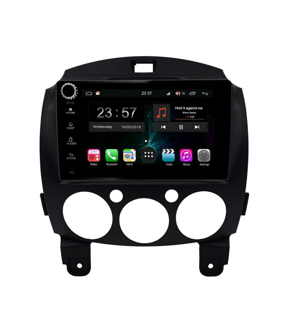 Штатная магнитола FarCar s300-SIM 4G для Mazda 2 на Android (RG1200RB) (+ Камера заднего вида в подарок!)