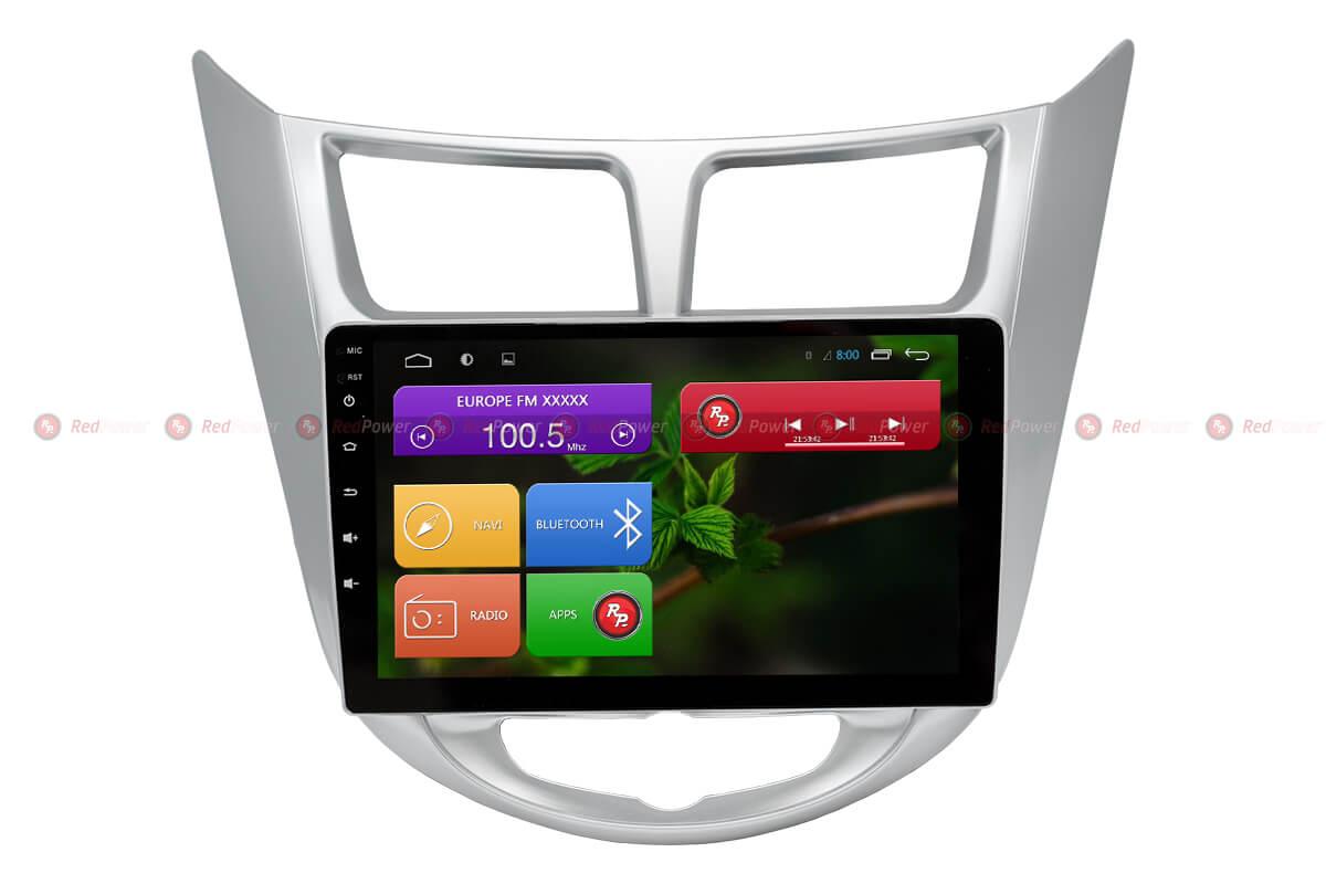 Автомагнитола для Hyundai Solaris Redpower 31067 R IPS DSP ANDROID 7 redpower md6