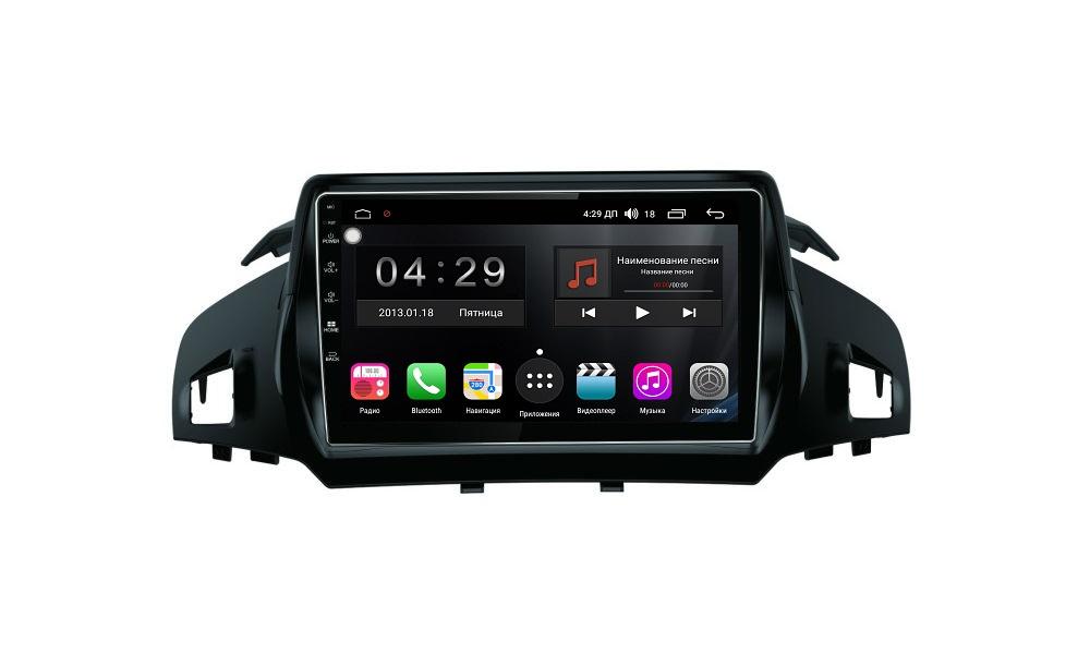 Штатная магнитола FarCar s300-SIM 4G для Ford Kuga 2013-2019 на Android (RG362R) (+ Камера заднего вида в подарок!)