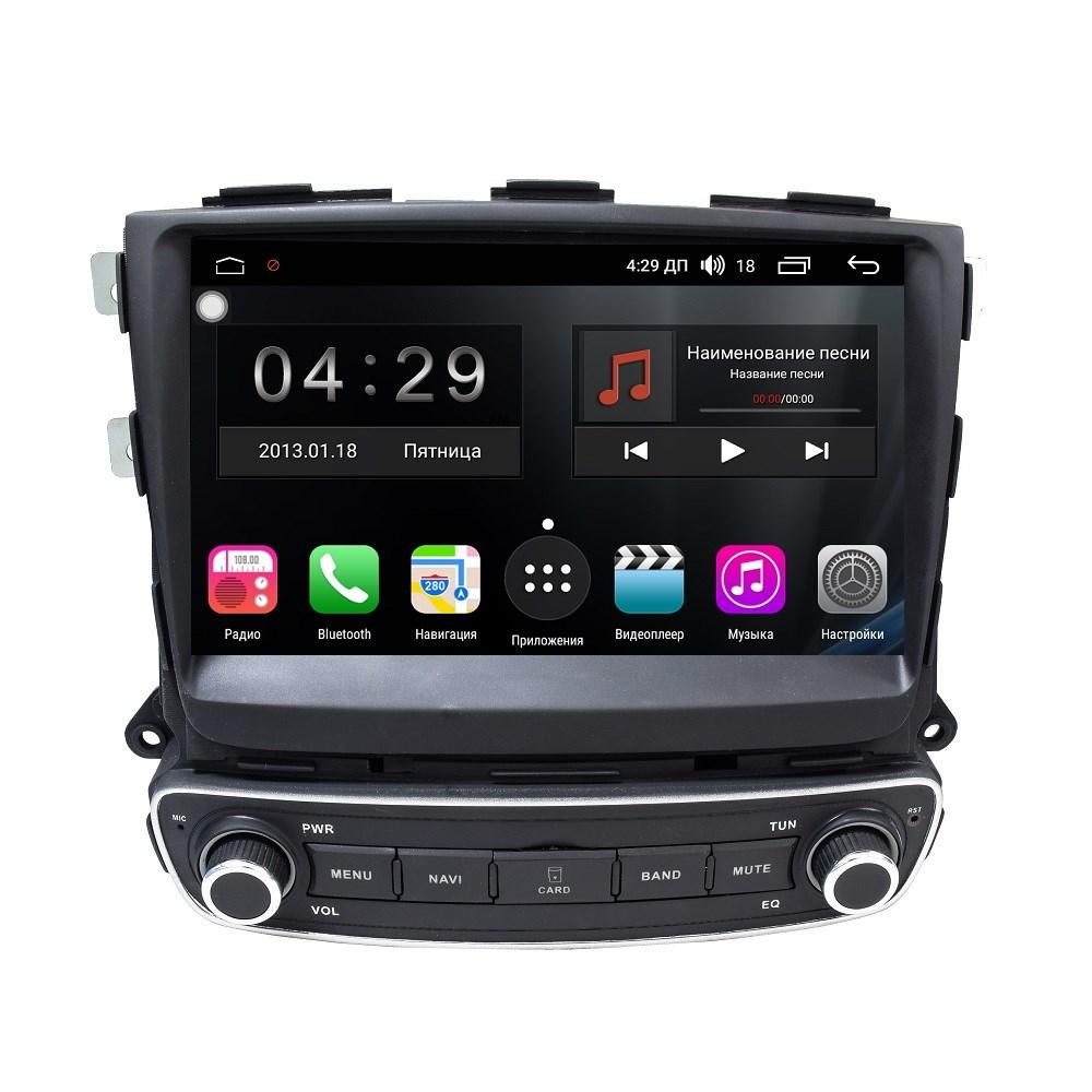 Штатная магнитола FarCar s300-SIM 4G для Kia Sorento на Android (RG224H) (+ Камера заднего вида в подарок!)