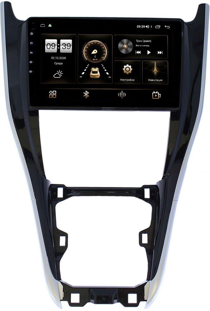 Штатная магнитола LeTrun 4195-1092 для Toyota Harrier III (XU60) 2013-2021 на Android 10 (6/128, DSP, QLed) С оптическим выходом (+ Камера заднего вида в подарок!)
