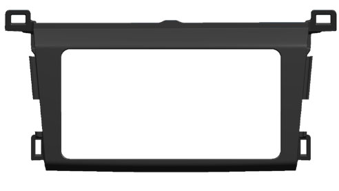 Переходная рамка Intro RTY-N45 для Toyota RAV-4 2013+ Original переходная рамка intro rty n08 для toyota prado 150 toyota rav 4 01 05 2din