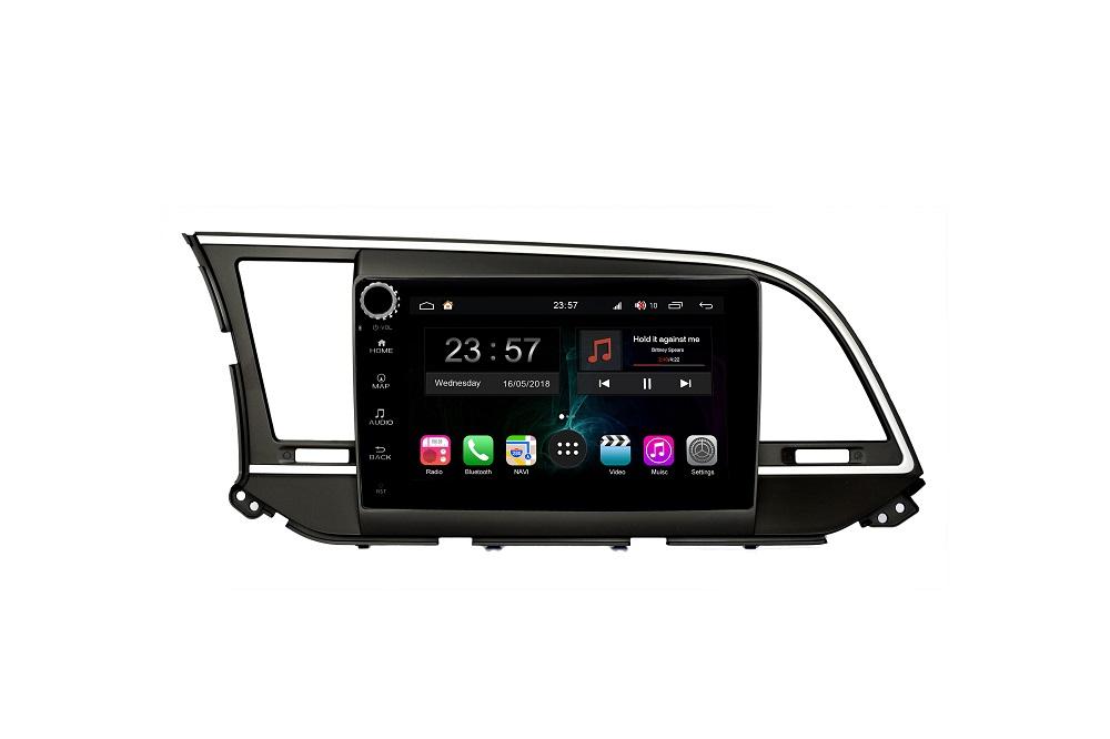 Штатная магнитола FarCar s300-SIM 4G для Hyundai Elantra на Android (RG581RB) (+ Камера заднего вида в подарок!)