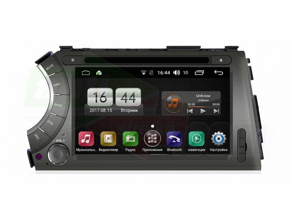 Штатная магнитола FarCar s170 для Ssang Yong Kyron,Actyon Sports  Android (L158)