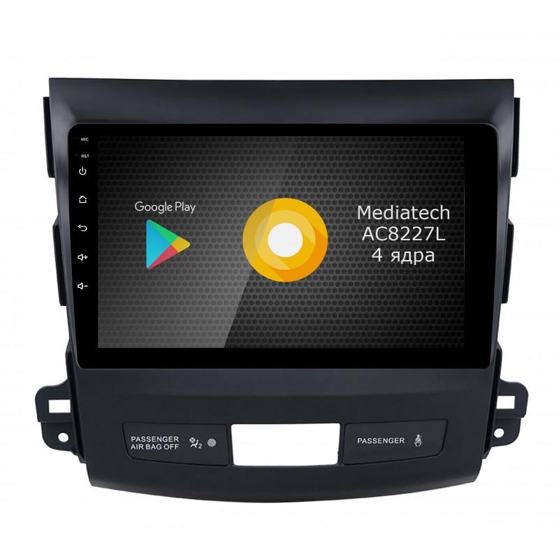 Штатная магнитола Roximo S10 RS-2606 для Mitsubishi Outlander XL (Android 8.1) (+ Камера заднего вида в подарок!)