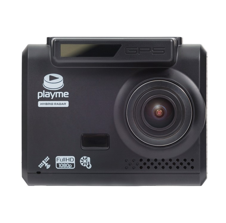 Видеорегистратор с радар-детектором Playme Alpha (+ Карта памяти microSD на 64 ГБ в подарок!)