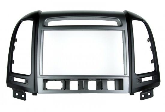 Переходная рамка Incar RHY-N44 для Hyundai Santa Fe (кнопки)Переходные рамки<br>Incar RHY-N44. Совместимость с моделямиHyundai Santa Fe 06-12<br>