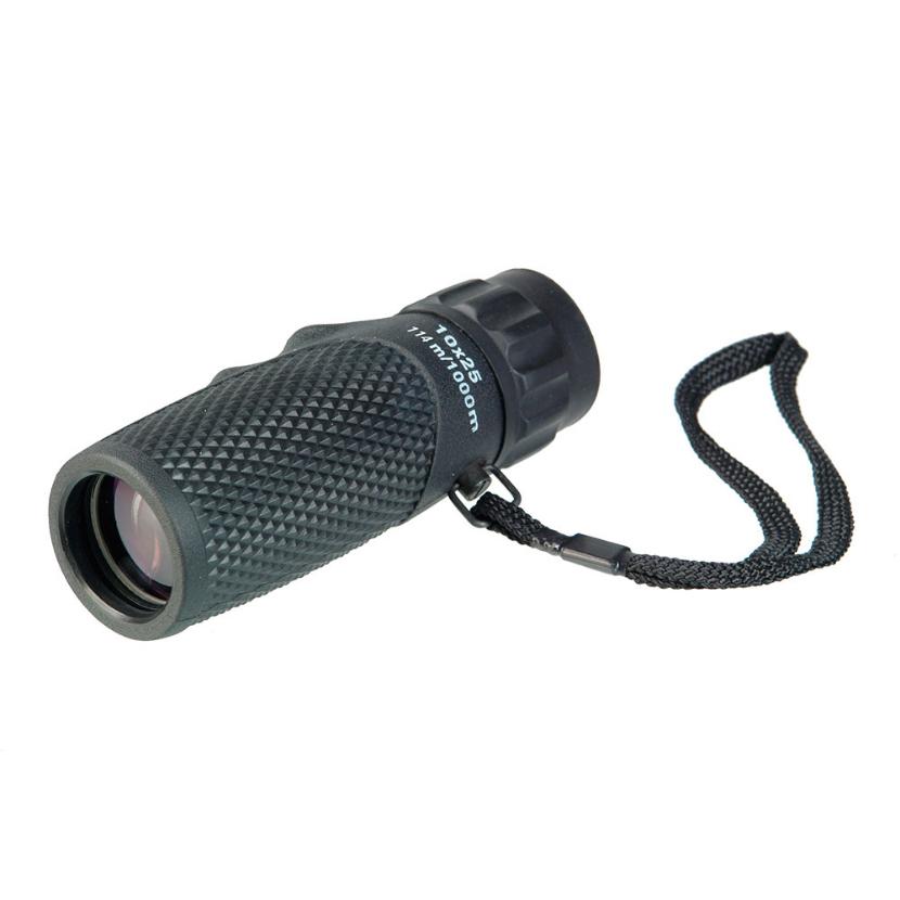 Монокуляр Veber Ultra Sport 10x25, черный (+ Автомобильные коврики для впитывания влаги в подарок!)
