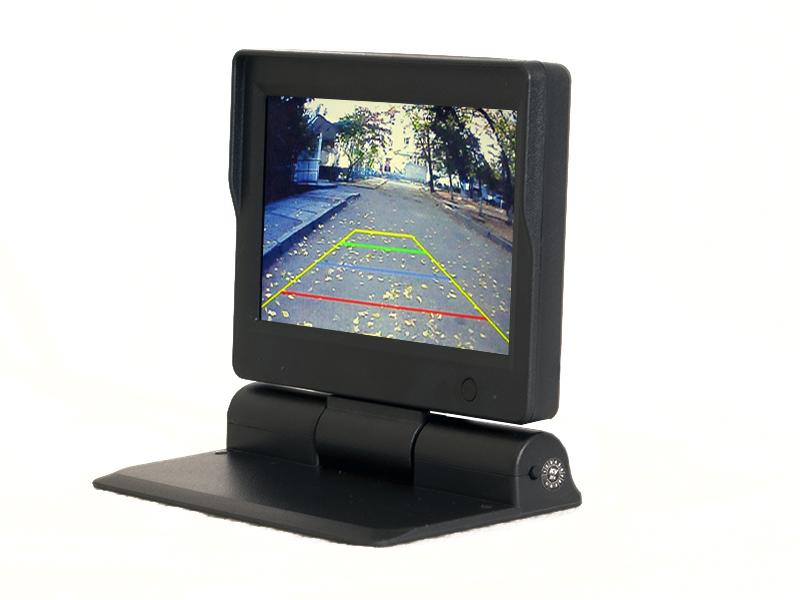 Автомобильный монитор 5 на приборную панель AVIS AVS0534BM с автоматическим приводом