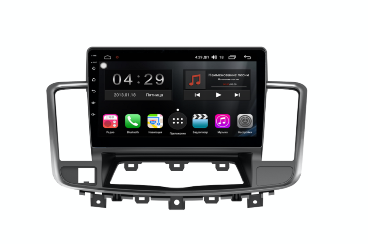 Фото - Штатная магнитола FarCar s300-SIM 4G для Nissan Teana на Android (RG1076R) (+ Камера заднего вида в подарок!) штатная магнитола farcar s300 sim 4g для mercedes r class на android rt215r камера заднего вида в подарок