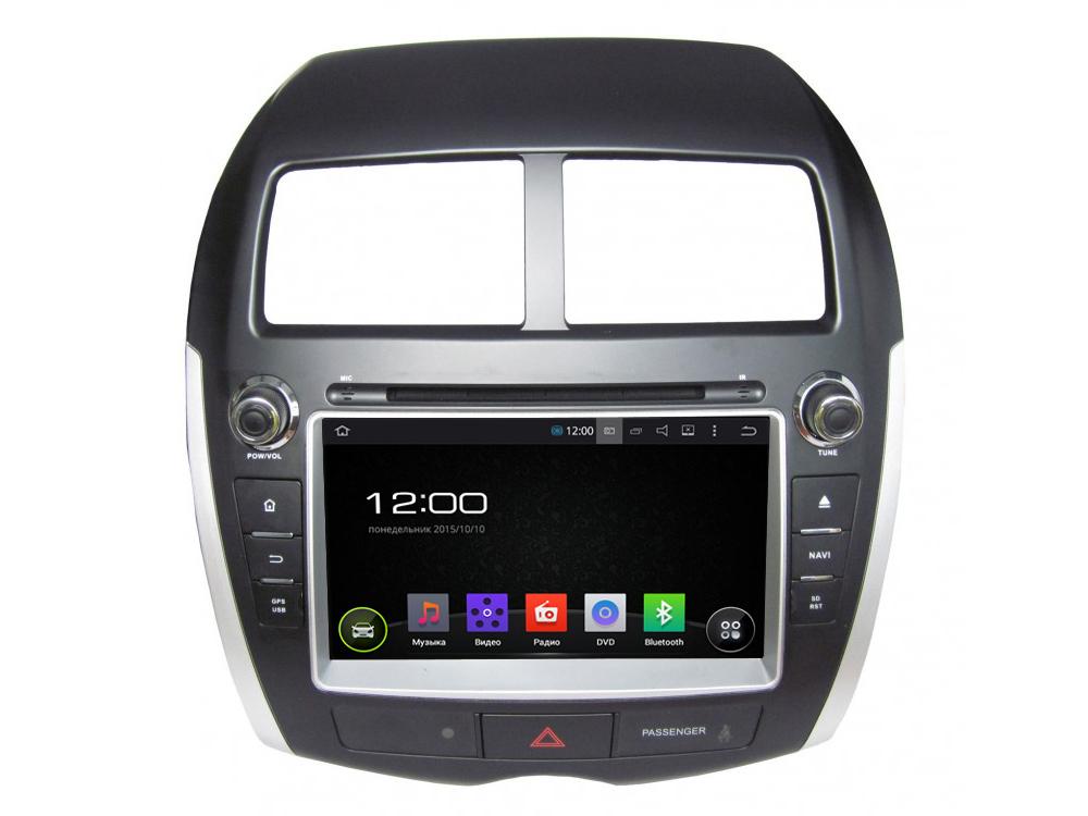 Штатная магнитола FarCar s130 для Mitsubishi ASX, Peugeot 4008, Citroen Aircross на Android (R026) farcar s130 mitsubishi pajero на android r458