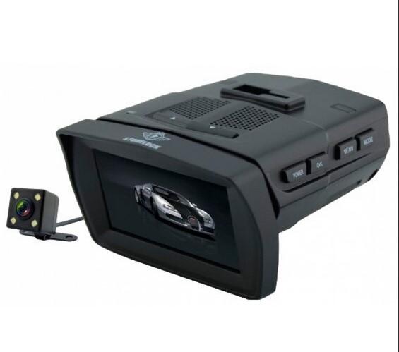 Видеорегистратор с радар-детектором Stonelock MERU (+ Антисептик-спрей для рук в подарок!)