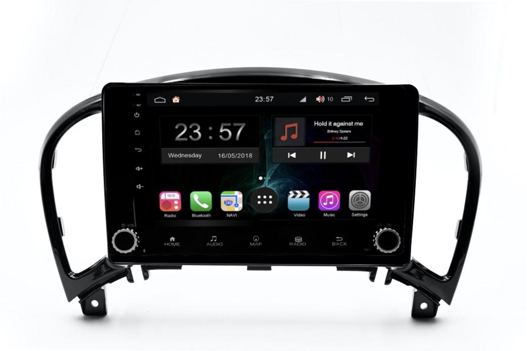 Штатная магнитола FarCar s300-SIM 4G для Nissan Juke на Android (RG749RB) (+ Камера заднего вида в подарок!)