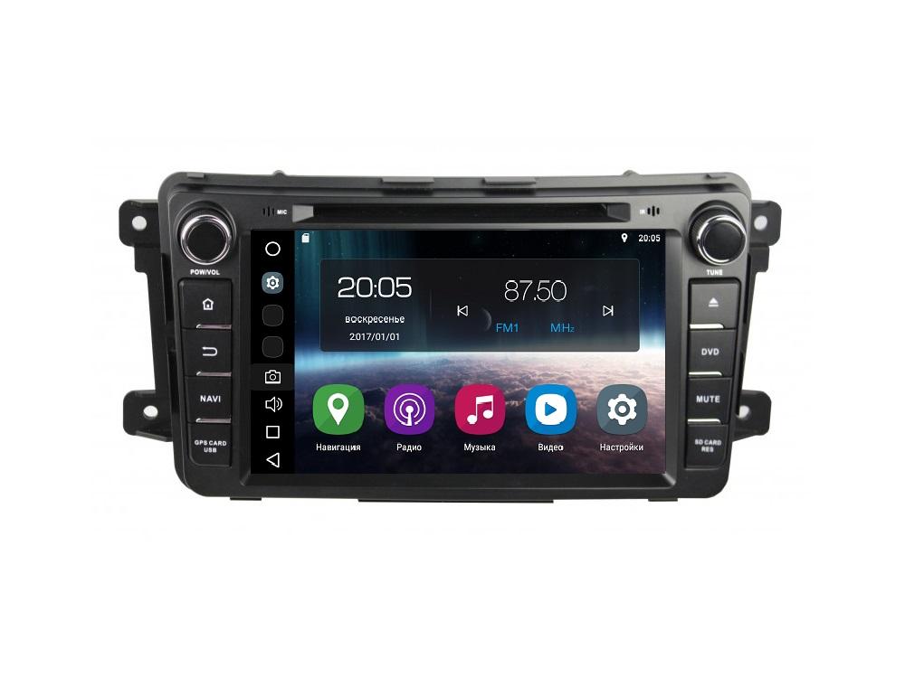 Штатная магнитола FarCar s200 для Mazda CX-9 на Android (V459) (+ камера заднего вида) штатная магнитола farcar s200 для bmw e90 e91 e92 e93 на android a095