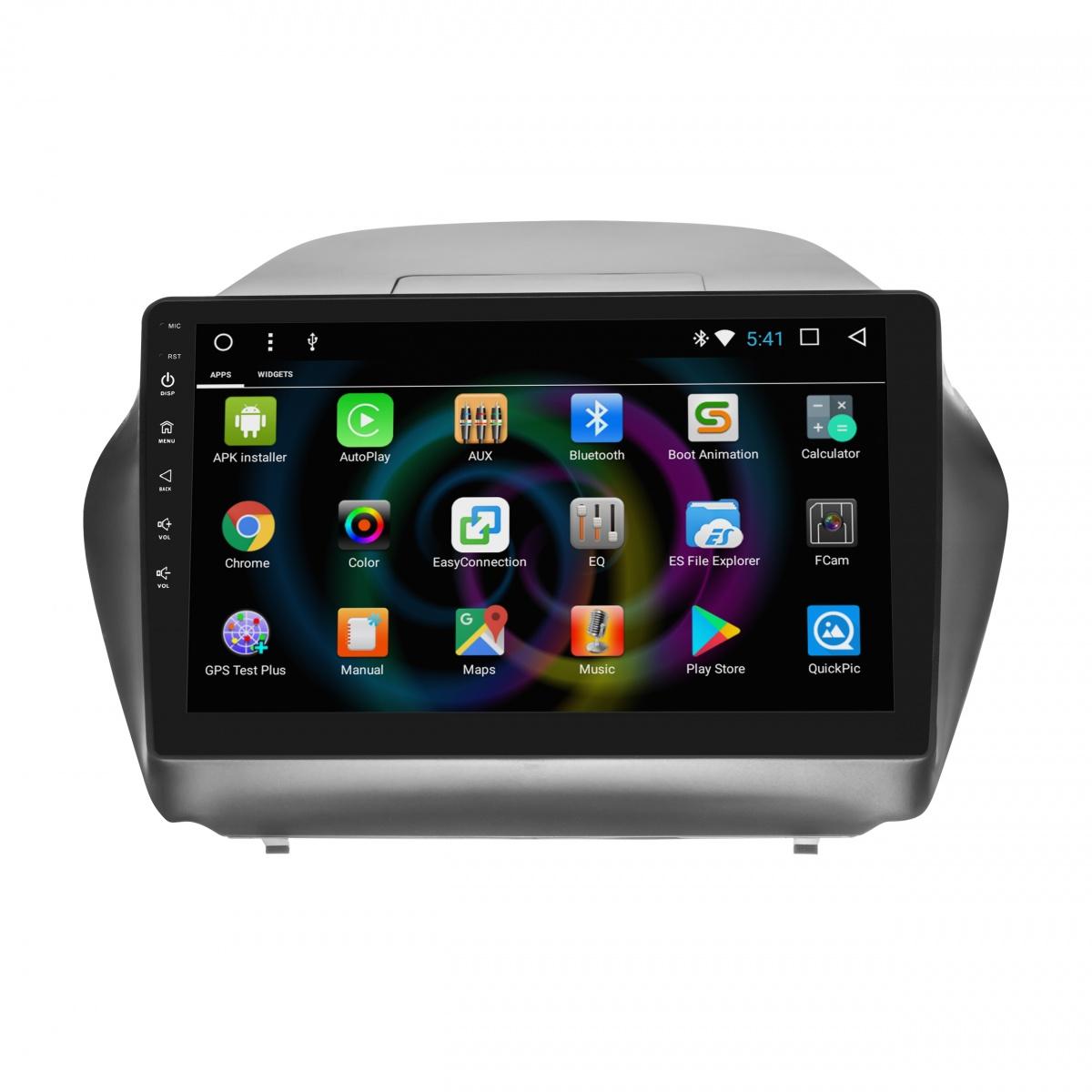 Штатное головное устройство MyDean B361 для Hyundai ix35 (2010-2015) (+ Камера заднего вида в подарок!) штатное головное устройство mydean b546 для hyundai tucson 2015 2018 камера заднего вида в подарок