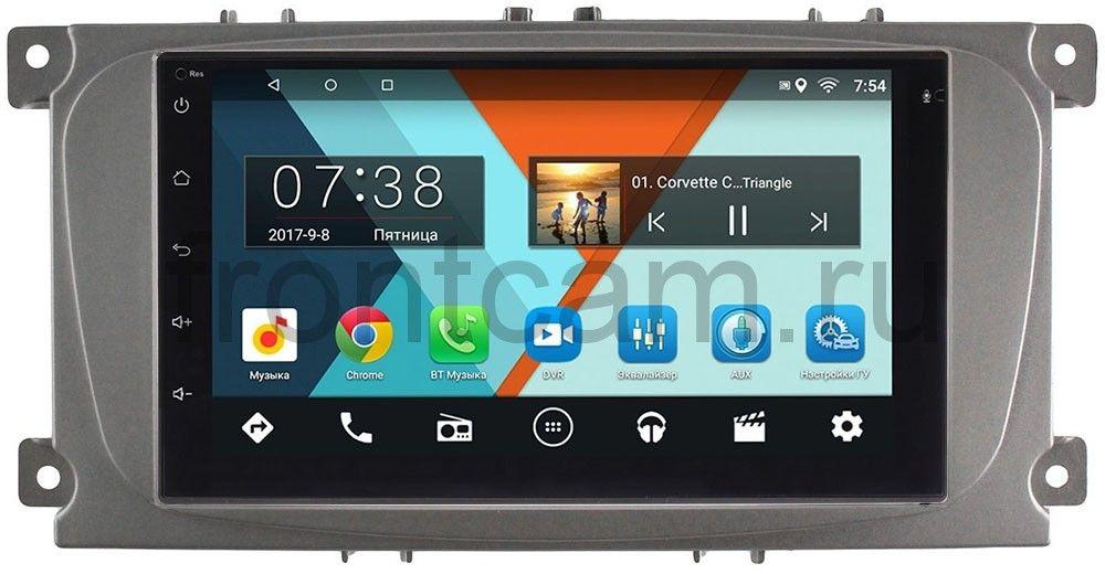 Штатная магнитола Ford Focus, C-Max, Mondeo Wide Media MT7001-RP-FRCMD-54 на Android 6.0.1