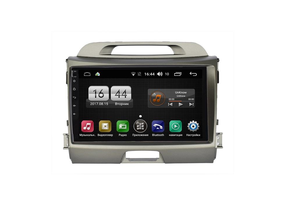Штатная магнитола FarCar s175 для KIA Sportage 2010-2016 на Android (L537R) штатная магнитола для kia sportage iii 2010 2016 letrun 1502