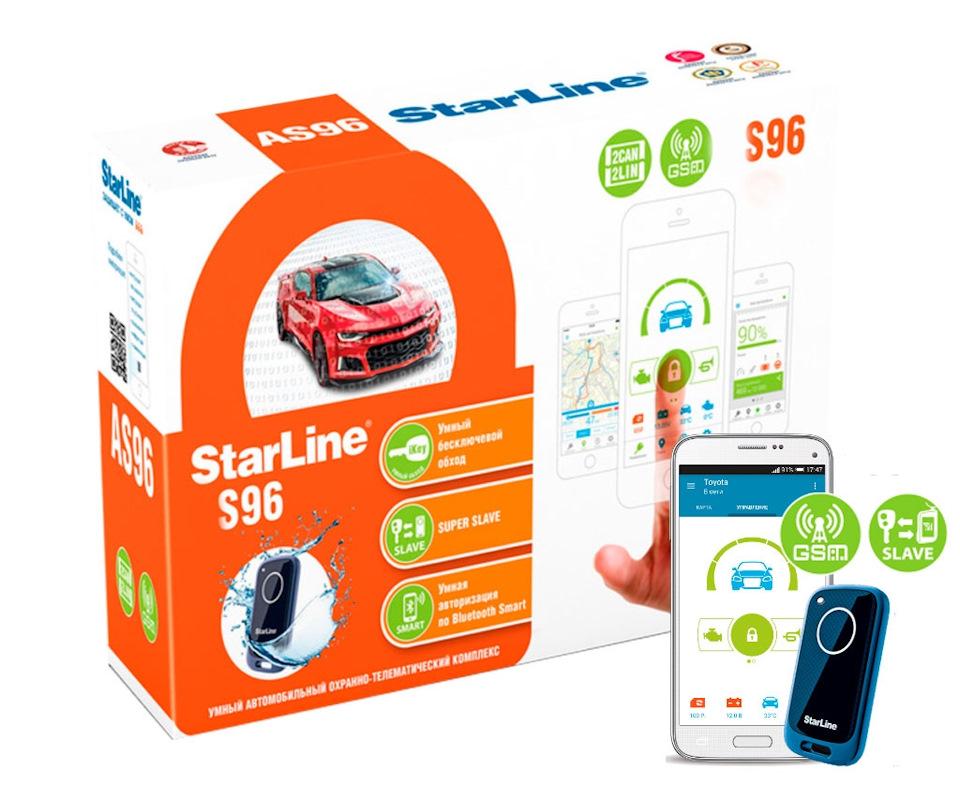 Автосигнализация StarLine S96 BT GSM автосигнализация с автозапуском starline v67