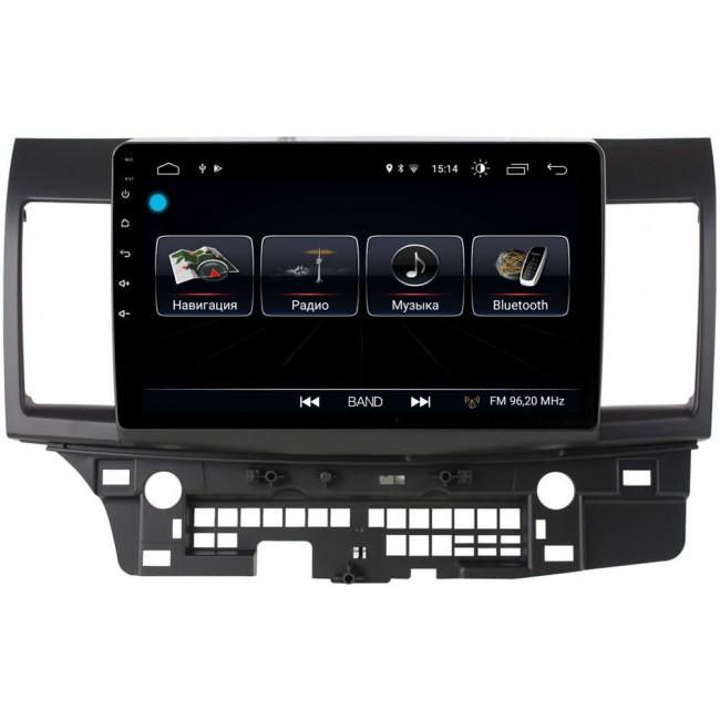 Штатная магнитола LeTrun 1932 для Mitsubishi Lancer X 2007-2018 Android 8.0.1 MTK-L 2Gb 7060b 7 inch 12v auto 2 din bluetooth tft screen car audio stereo mp3 mp4 mp5 player support aux fm usb sd mmc