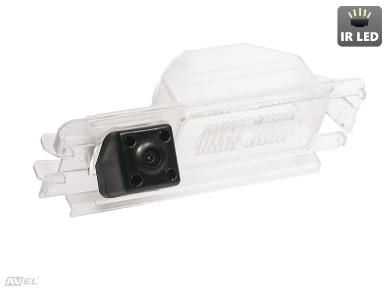 CMOS ИК штатная камера заднего вида AVS315CPR (#138) для RENAULT SANDERO NEW / LOGAN II (2014-...) cmos ик штатная камера заднего вида avis electronics avs315cpr 018 для honda accord vii 2002 2008 accord viii 2008 2012 civic 4d viii 2006 2012