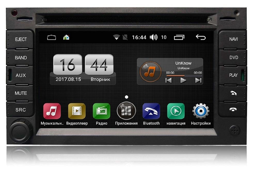 Штатная магнитола FarCar s170 для Volkswagen, Skoda на Android (L016) (+ Камера заднего вида в подарок!) штатная магнитола farcar s170 для volkswagen skoda на android l016