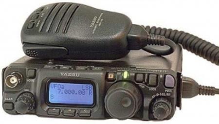 Мобильная радиостанция Yaesu FT-817 2018 version of yaesu ft 891 991 ft 817 ft 857d ft 897d special radio connector