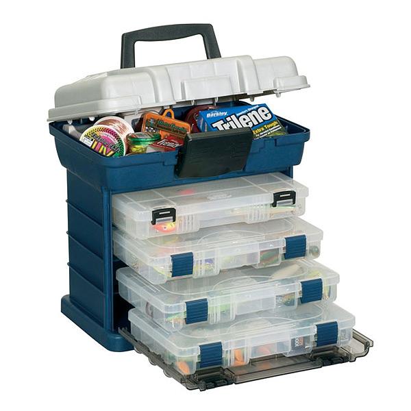 цена на Ящик PLANO 1364-00 с 4 коробками и верхним отсеком для аксессуаров