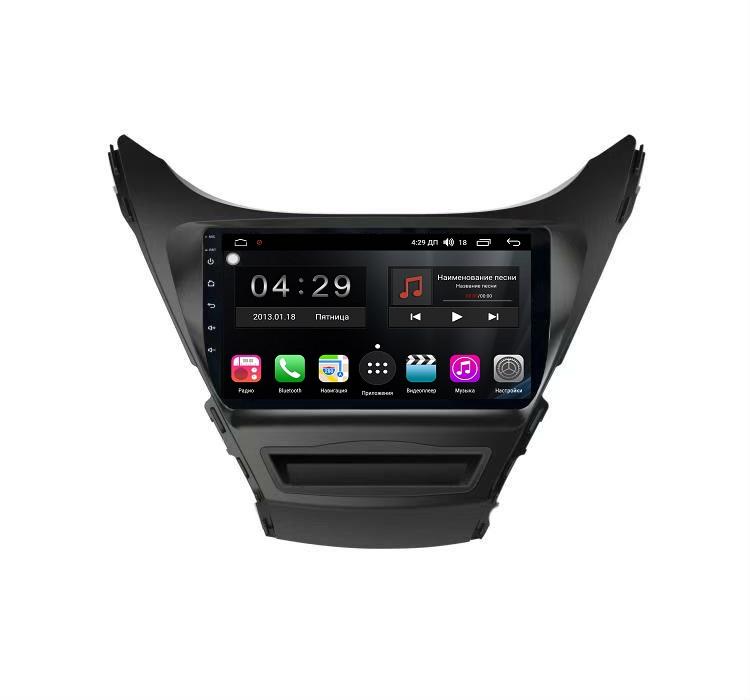 Штатная магнитола FarCar s300-SIM 4G для Hyundai Elantra 2011-2013 на Android (RG360R) (+ Камера заднего вида в подарок!)
