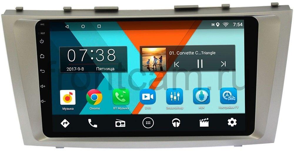 Штатная магнитола Toyota Camry V40 2006-2011 Wide Media MT9037MF-2/16 Android 7.1.1 (+ Камера заднего вида в подарок!)