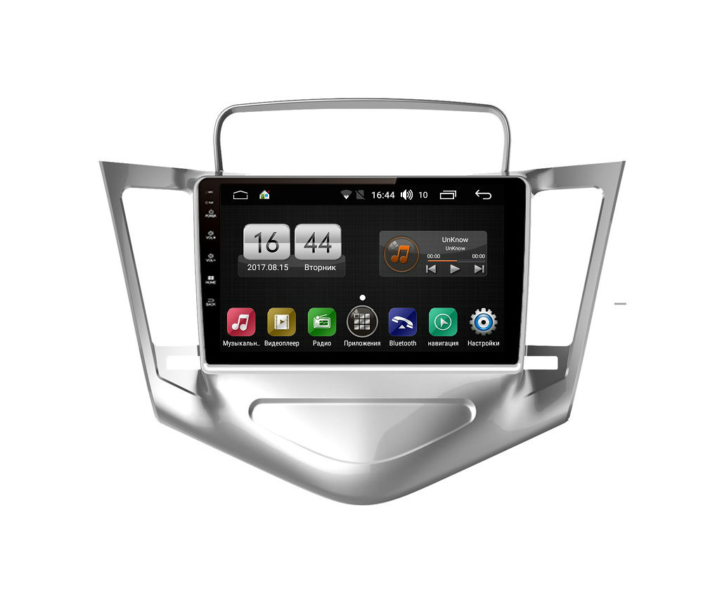 Штатная магнитола FarCar s185 для Chevrolet Cruze 2008-2012 на Android (LY045R) (+ Камера заднего вида в подарок!)