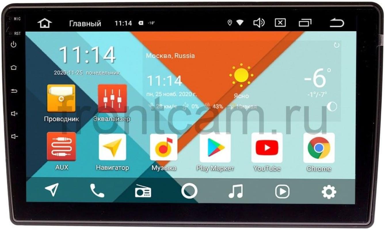 Штатная магнитола Seat Altea I, Leon II, Alhambra II Wide Media KS1111QR-3/32 DSP CarPlay 4G-SIM на Android 10 (+ Камера заднего вида в подарок!)