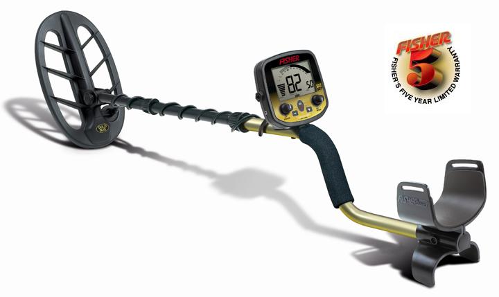 Металлоискатель для поиска золота Fisher GOLD BUG DP (+ Совок поисковый в подарок!) fisher f44 лопата и рюкзак в подарок