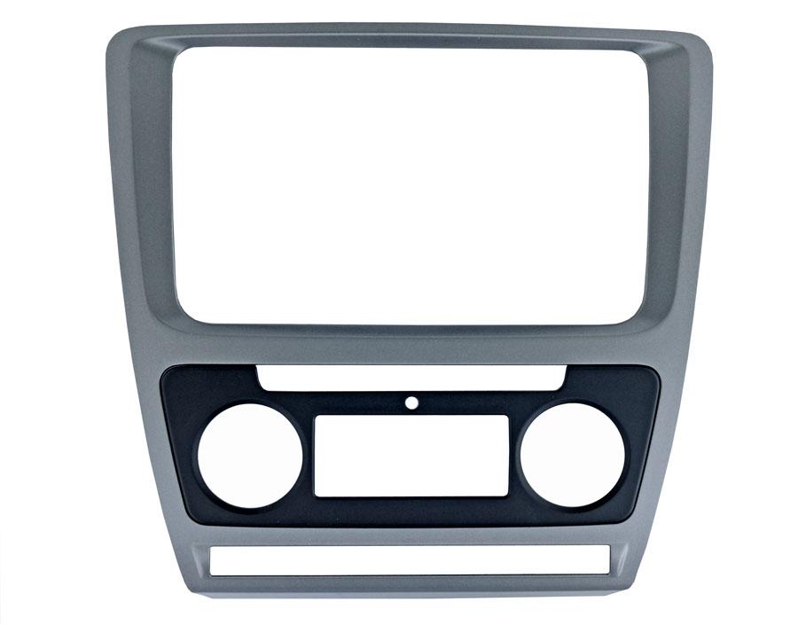 Переходная рамка Intro RSC-8676 A-SL для Skoda Octavia 04-12 Silver (Clima) цена