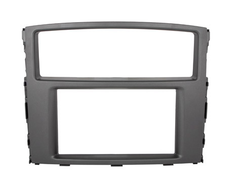Переходная рамка Intro RMS-N01 для Mitsubishi Pajero 4 2DIN aluminium alloy fabric rear trunk security shield cargo cover for mitsubishi pajero sport 2012 2013 2014 2015