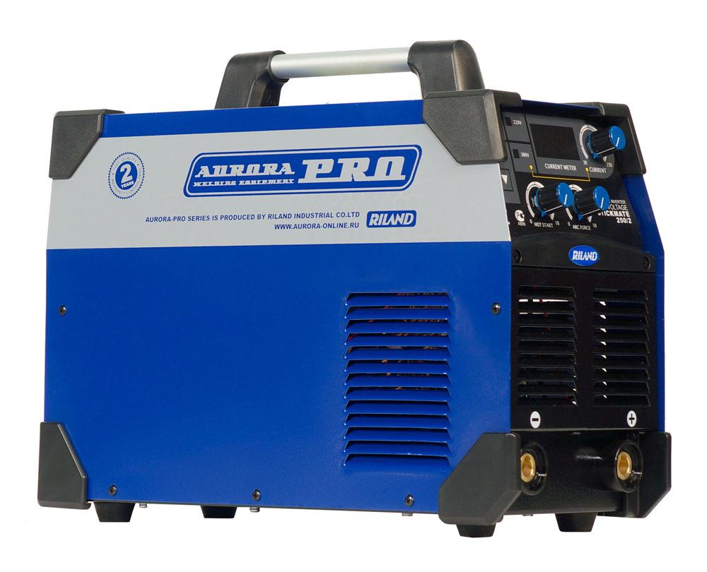 Инверторный сварочный аппарат AuroraPRO STICKMATE 250/2 Dual Energy AURORA
