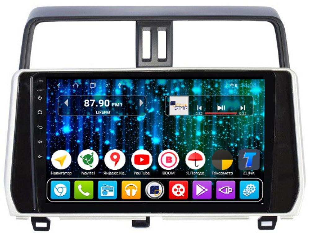 Магнитола для Toyota Prado 150 2018+ DAYSTAR DS-7109HB-TS9 DSP (+ Камера заднего вида в подарок!) штатное головное устройство daystar ds 7047hb toyota prado 150 2013 android 6 4 ядра