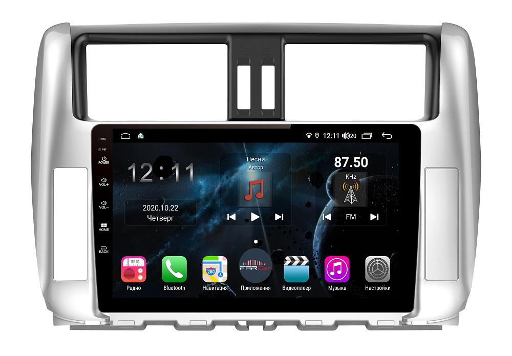 Штатная магнитола FarCar s400 для Toyota PRADO на Android (H065R) (+ Камера заднего вида в подарок!)