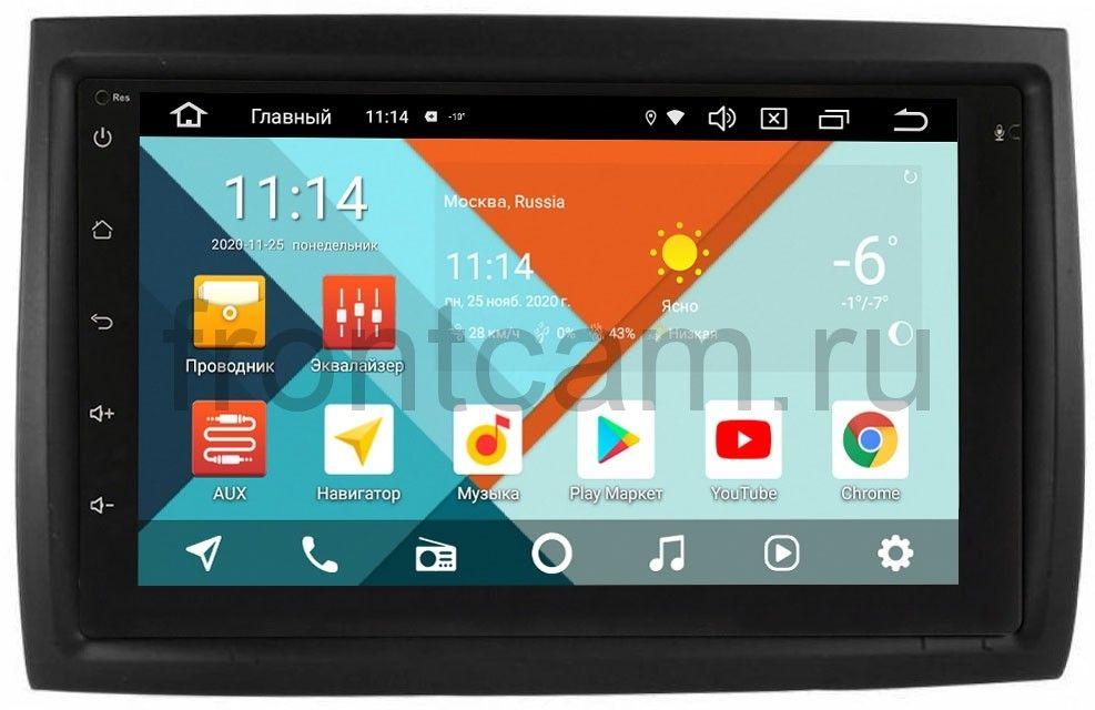 Штатная магнитола Peugeot Boxer II 2006-2019 Wide Media MT7001PK-2/16-RP-11-354-70 на Android 9.1 (DSP 3G-SIM) (+ Камера заднего вида в подарок!)