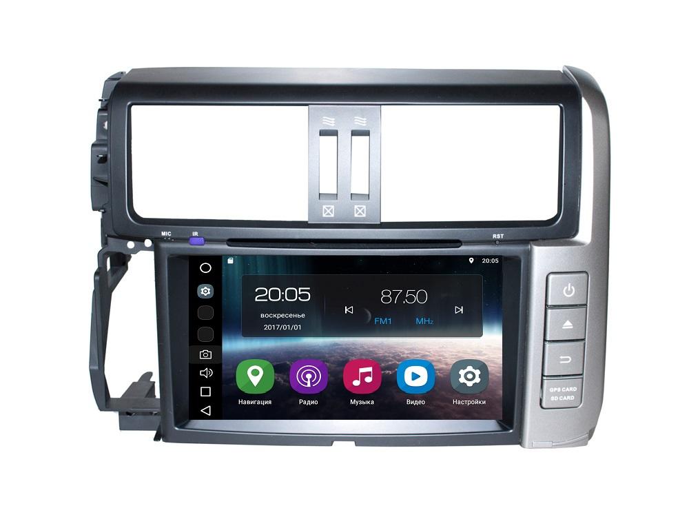 Штатная магнитола FarCar s200 для Toyota Land Cruiser Prado 150 (2009-2013) на Android (V065) штатная магнитола redpower 31265 rips toyota land cruiser prado 150 2014