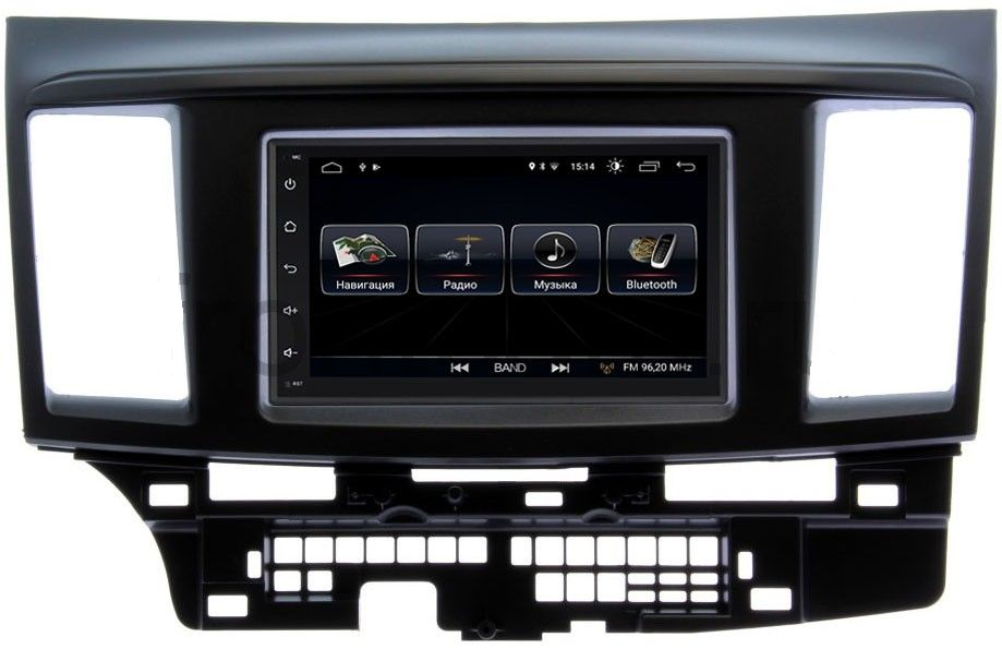 Штатная магнитола LeTrun 2380-RP-MMLNB-49 для Mitsubishi Lancer X (2007-2017) Android 8.0.1 MTK-L (+ Камера заднего вида в подарок!)