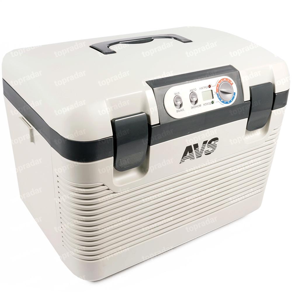 Термоэлектрический автохолодильник AVS CC-19WBC (+ аккумуляторы холода в подарок!)