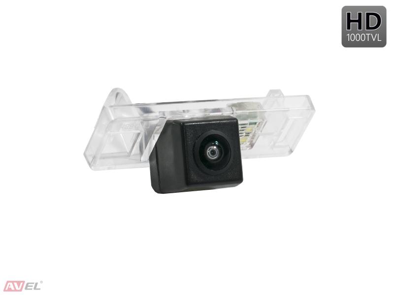 CCD HD штатная камера заднего вида AVS327CPR (#063) для NISSAN JUKE / NOTE / PATHFINDER III (2005-...) / PATROL VI (2010-...) / QASHQAI / X-TRAIL II (2007-...) / CITROEN C4 / C5 / PEUGEOT 207CC / 307 (HATCHBACK) / 307CC / 308CC / 3008 / 407 / 508 / RCZ