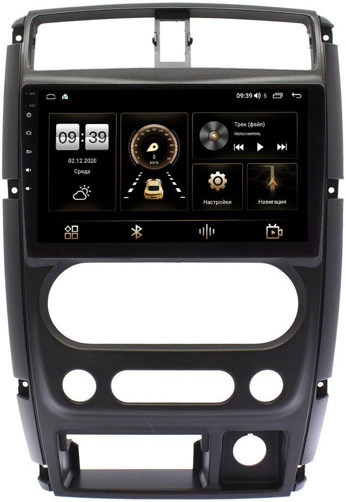 Штатная магнитола Suzuki Jimny III 2005-2015 LeTrun 4196-9-357 на Android 10 (6/128, DSP, QLed) С оптическим выходом (+ Камера заднего вида в подарок!)