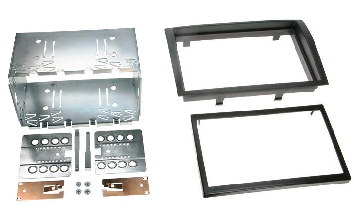 Переходная рамка Intro RFR-N21 для Peugeot Boxer 2DIN (салазки) переходная рамка intro rfr n04 для renault megane 2 03 1din
