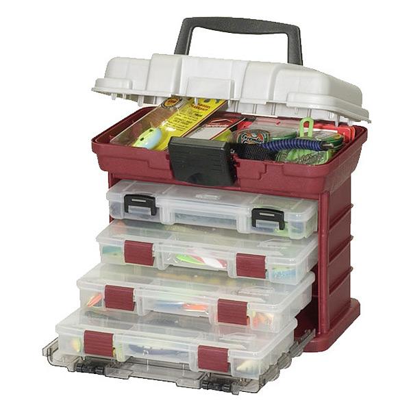 Ящик PLANO 1354-00 с 4 коробками и верхним отсеком для аксессуаров коробка plano 3500 1354 00