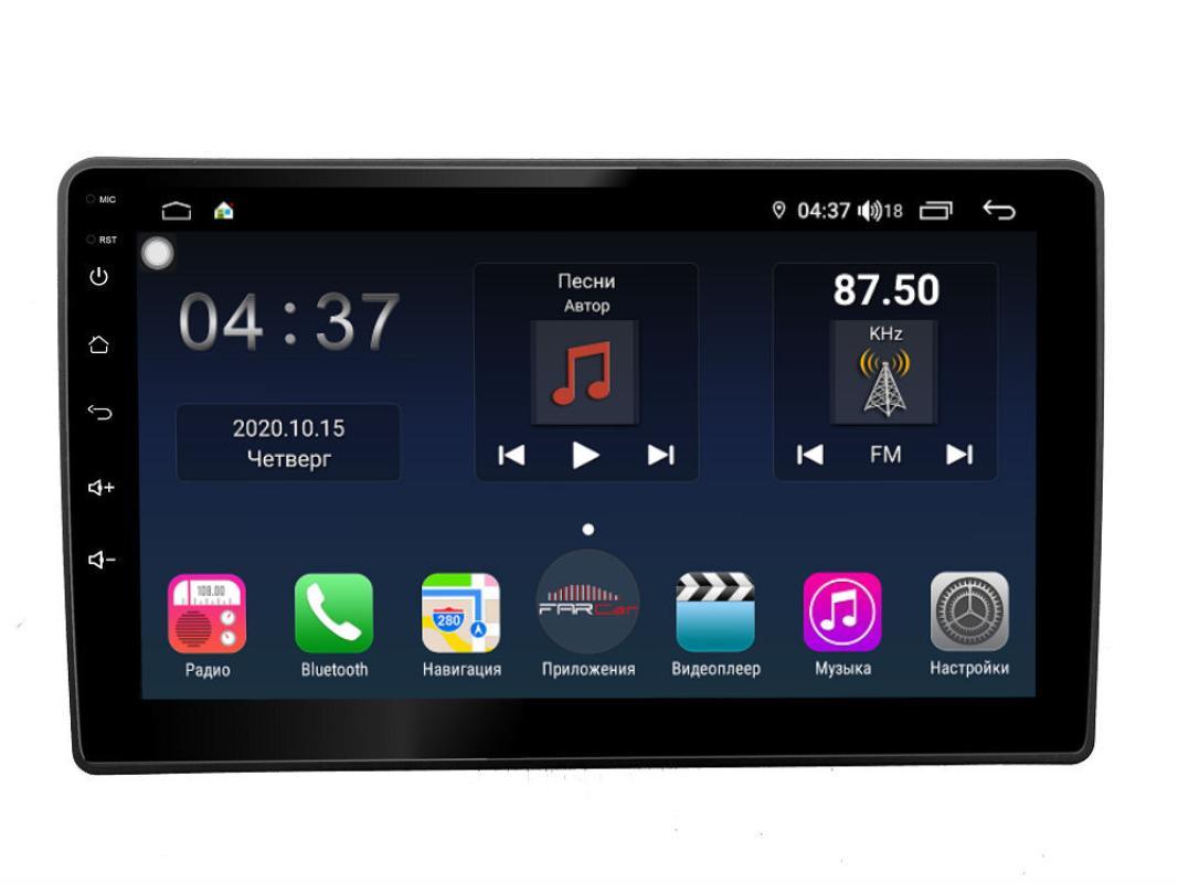 Штатная магнитола FarCar s400 для KIA Sorento на Android (TG224R) (+ Камера заднего вида в подарок!)