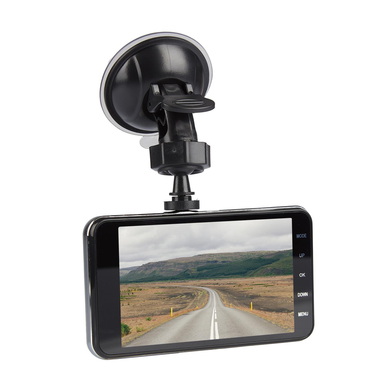 Видеорегистратор с парковочным ассистентом Dunobil Zoom Black Duo (+ Разветвитель в подарок!)