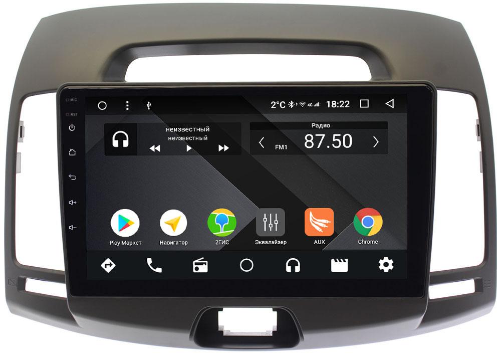 Штатная магнитола Hyundai Elantra IV (HD) 2006-2011 Wide Media CF9077-OM-4/64 на Android 9.1 (TS9, DSP, 4G SIM, 4/64GB) (+ Камера заднего вида в подарок!)