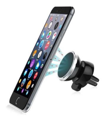 Держатель для смартфона в дефлектор магнитный Baseus 360-degree Rotation
