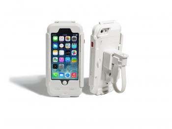 Водонепроницаемый чехол/ держатель для iPhone 6/6S на велосипед и мотоцикл DRC6IPHONE (белый)